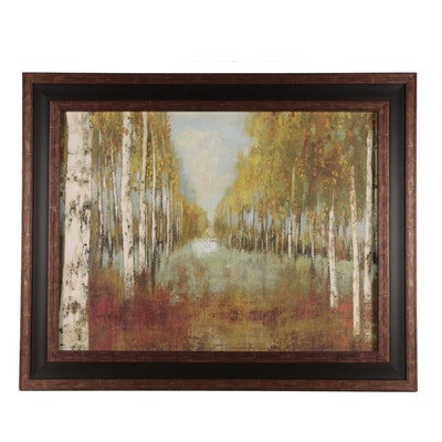 Giclee Print of Wooded Landscape