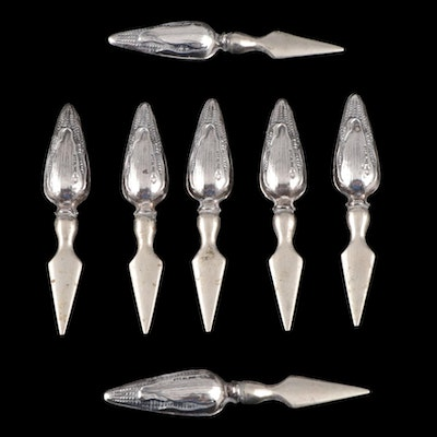 Webster Sterling Silver Corn Cob Spears, Early to Mid 20th Century
