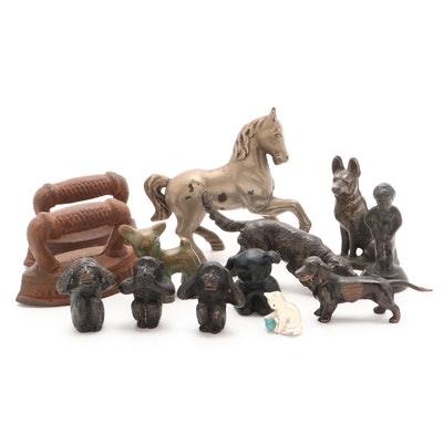 Advertising and Souvenir Cast Figurines, Early-Mid 20th Century