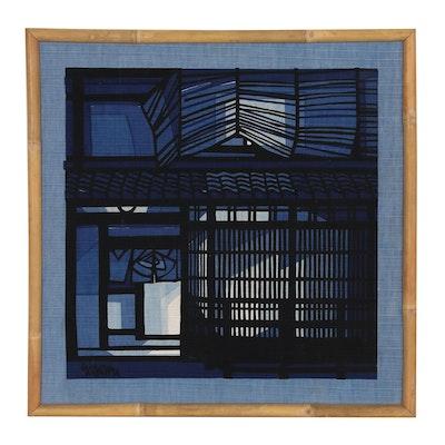 Clifton Karhu Block Printed Textile