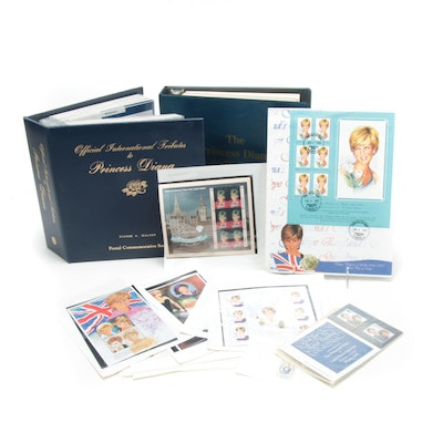 Princess Diana Commemorative Stamp Collection