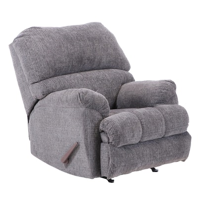 Contemporary Upholstered Reclining Armchair