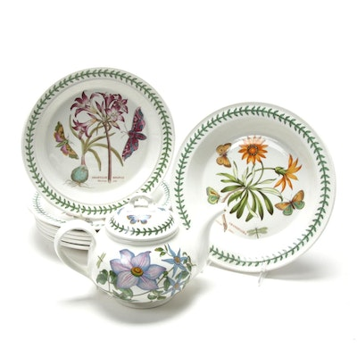 "Portmeirion ""Botanic Garden"" Dinnerware and Teapot"