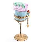 Limoges Imports Hand-Painted Porcelain Birdhouse Box