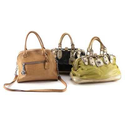 MICHAEL Michael Kors and XX Maxx New York Leather Satchels