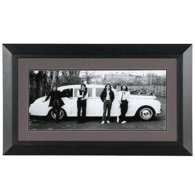 "Giclee Poster ""The Beatles 1969: Baby you Can Drive My Car"""