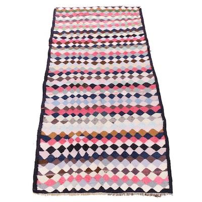 4'11 x 10'6 Handwoven Persian Kilim Rug