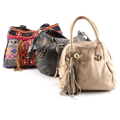 Isabella Fiore, Jasper and Jeera and  Juicy Couture Handbags