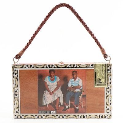 Cigar Box Handbag with Arturo Fuente Rosado Sungrown Box and Jazz Legends Motif