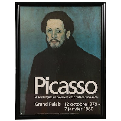 Grand Palis Offset Lithograph Exhibition Poster for Pablo Picasso