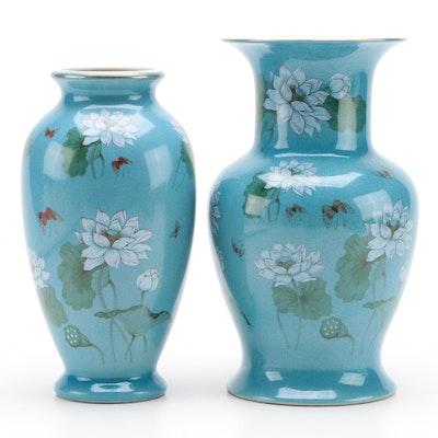 Andrea by Sadek Glazed Ceramic Vases