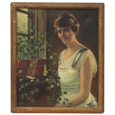 Oil Portrait Painting, 1940