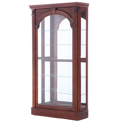 Pulaski Furniture Mahogany-Stained Display Cabinet