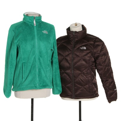The North Face Zipper Front Jackets