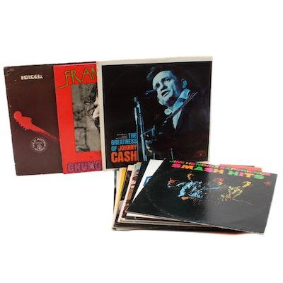 Johnny Cash, Frank Zappa, Jimi Hendrix, The Beatles and More Vinyl Records