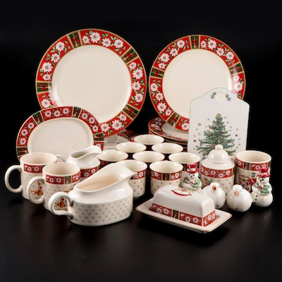 "Kobe Classic Traditions ""Charlton Hall"" Ceramic Dinnerware and Other Tableware"