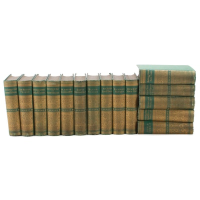 Charles Dickens' Works Fifteen-Volume Collection, 1885