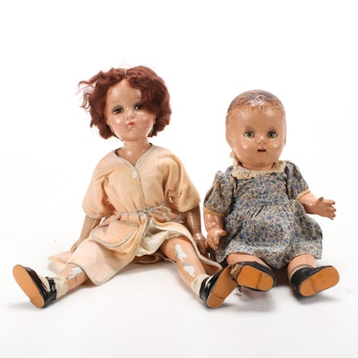Composite and Plastic Dolls, Early 20th Century