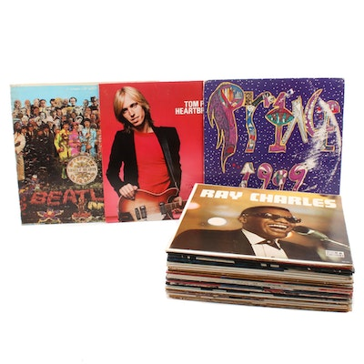 Johnny Cash, Tom Petty and The Heartbreakers, Prince and other Vinyl Records