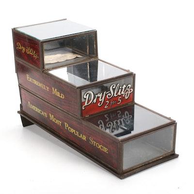 Standard Cigar Company Dry Slitz Stogies Mercantile Display