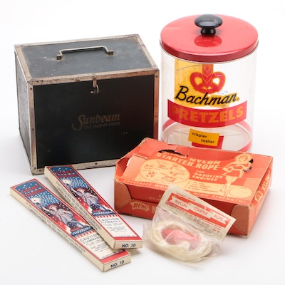 Sunbeam, Bachman Pretzels, Acme Sparklers, and Other Advertising Collectibles