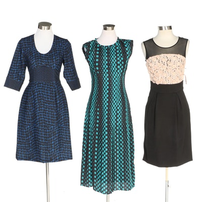 J. Peterman Chain Print Dress and Other Dresses with Original Tags
