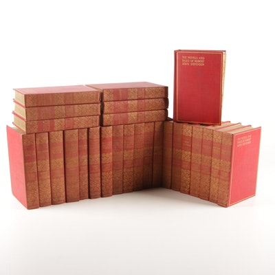 """The Novels and Tales of Robert Louis Stevenson"", Twenty-seven Volume Set"