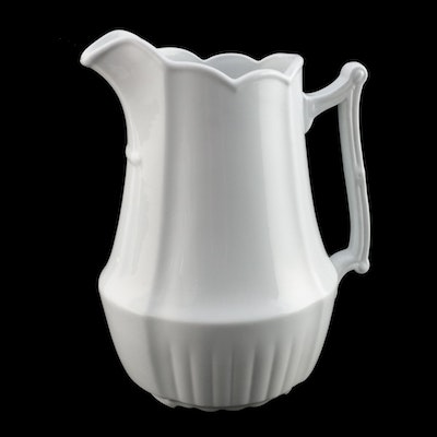 Johnson Bros Royal Ironstone Pitcher, 1883–1913