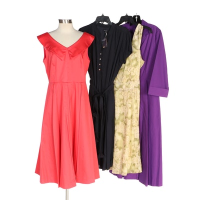 J. Peterman 1959 Party Dress, Long-Sleeve 1947 Dress and More Dresses