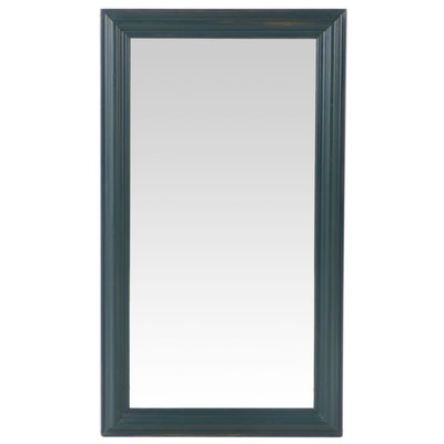 Antique Wall Mirror in Painted Finish