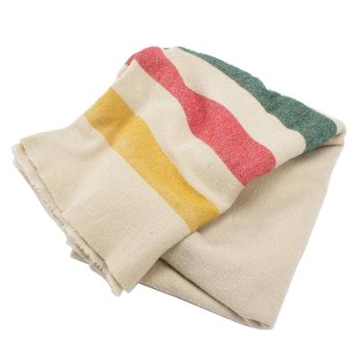 Hudson Bay Striped Wool Blanket