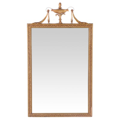 Neoclassical Style Giltwood Mirror, circa 1930