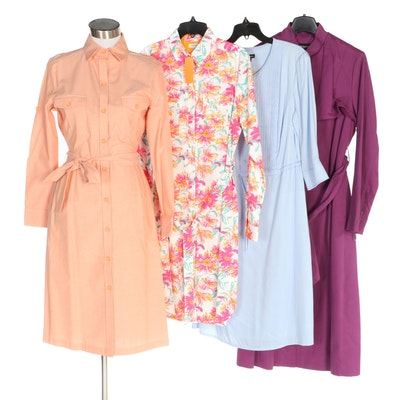 J. Peterman Shirt Dresses and Stormflap Raincoat with Original Tags
