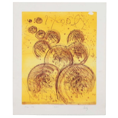 "Dale Chihuly Lithograph ""Floats"", 1994"