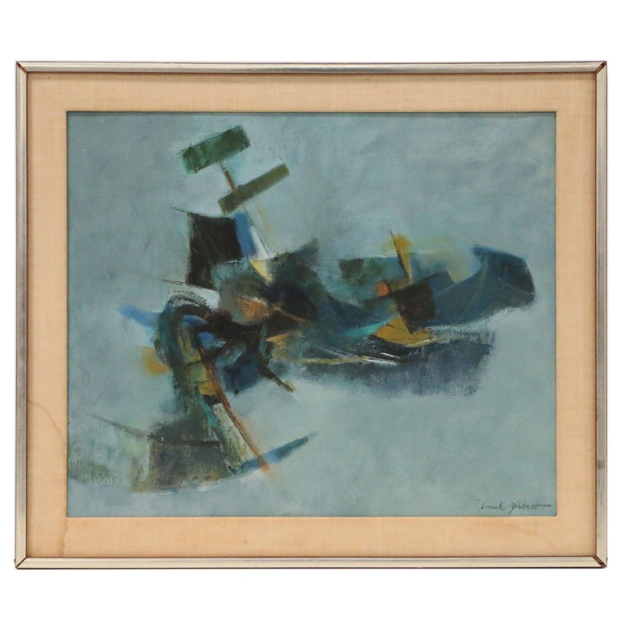 Lionel Gilbert Abstract Oil Painting