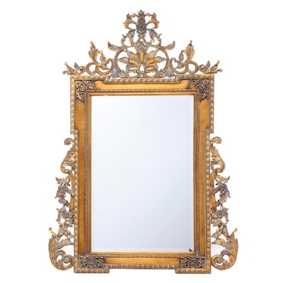 Howard Elliot Gilt Finished Mirror, Late 20th Century
