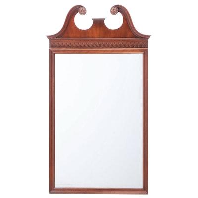 Kindel Hepplewhite Style Mahogany Mirror, Circa 1950