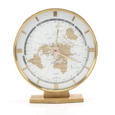 Kieninger & Obergfell Kundo World Clock, Mid 20th Century