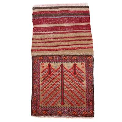 1'7 x 3'1 Handmade Northwest Persian Rug, 1930s