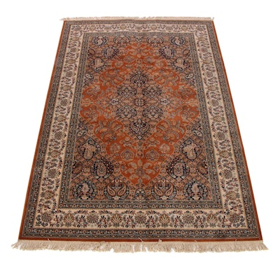 6'7 x 10'3 Hand-Knotted Couristan Persian Tabriz Rug, 2000s