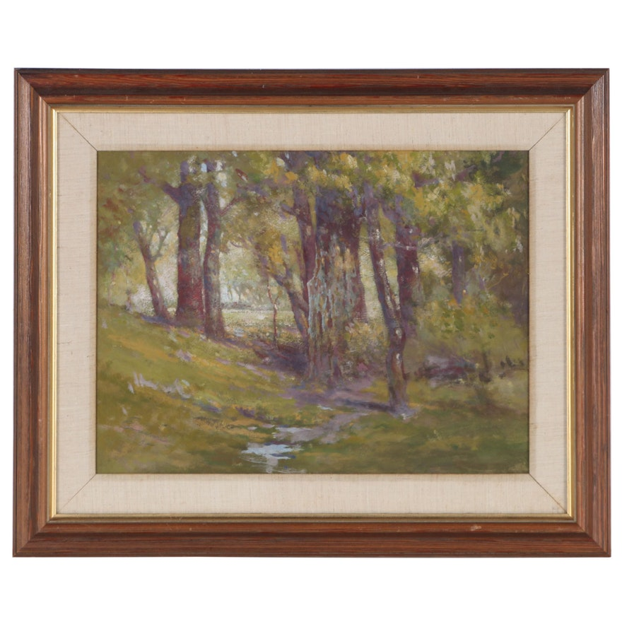 William Emerson Landscape Oil Painting
