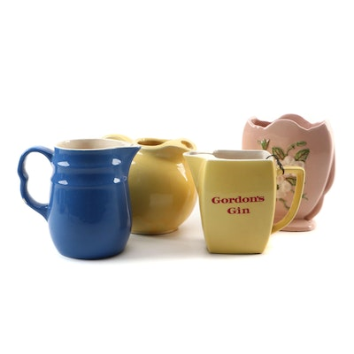 Oxford Stoneware Pitcher, Wade PDN Gordon's Gin Jug, and More