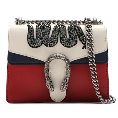Gucci Embellished Mini Leather Dionysus Bag