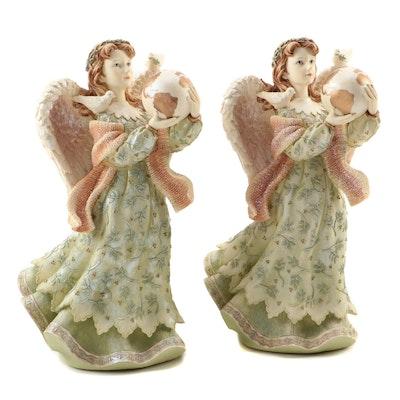 Sankyo Musical Angel Figurines