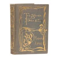 "First American Edition ""The Seven Seas"" by Rudyard Kipling, 1896"