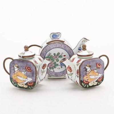 B. Yee Miniature Teapots