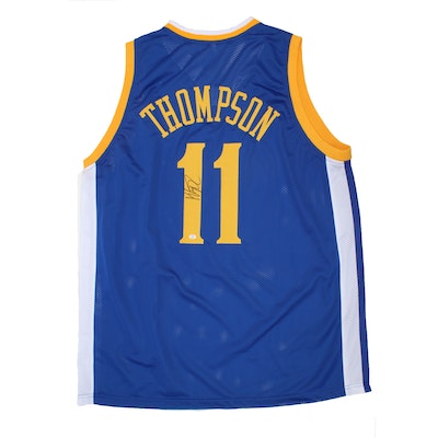 Klay Thompson #11 Golden State Warriors Official NBA Autographed Jersey