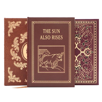 "Easton Press Classics Including ""The Sun Also Rises"" by Ernest Hemingway"