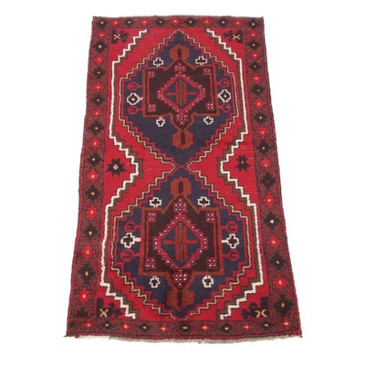 3'4 x 6'4 Handwoven Caucasian Rug