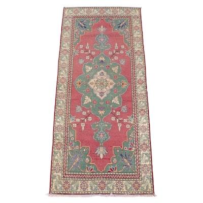 2'7 x 6'2 Hand-Knotted Sino-Persian Heriz Serapi Rug